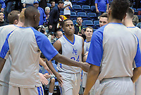 December 12, 2015 - Colorado Springs, Colorado, U.S. -  Air Force guard, Dezmond James #24, is introduced prior to an NCAA basketball game between the Army West Point Black Knights and the Air Force Academy Falcons at Clune Arena, U.S. Air Force Academy, Colorado Springs, Colorado.  Army West Point defeats Air Force 90-80.