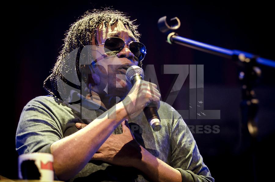 SÃO PAULO,SP, 01.07.2017 - SHOW-SP - O cantor Milton Nascimento durante show no Espaço das Américas na região oeste da cidade de São Paulo, neste sábado, 01. (Foto: Bete Marques/Brazil Photo Press)