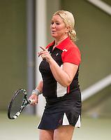 March 7, 2015, Netherlands, Hilversum, Tulip Tennis Center, NOVK, Josephine van der Stroom (NED)<br /> Photo: Tennisimages/Henk Koster