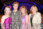 FASHION: Watching fashion at the Rose of Tralee International Fashion Show on Sunday l-r: Theresa O'Brien, Toonvane, Caroline O'Regan, Ashleighs Downes, Maureen Fleming, Ballymac and Kathleen Collins, Ashleighs Downes.   Copyright Kerry's Eye 2008