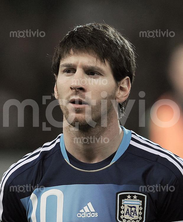 FUSSBALL INTERNATIONAL   Freundschaftsspiel  29.02.2012 Schweiz - Argentinien Lionel Messi (Argentinien)