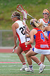 Redondo Beach, CA 05/14/11 - unidentified Redondo Union playerin action during the 2011 US Lacrosse / CIF Southern Section Division 1 Girls Varsity Lacrosse Championship, Los Alamitos defeated Redondo Union 17-5.