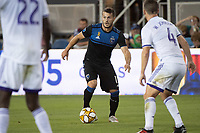 SAN JOSE,  - SEPTEMBER 1: Vako Qazaishvili #11 of the San Jose Earthquakes during a game between Orlando City SC and San Jose Earthquakes at Avaya Stadium on September 1, 2019 in San Jose, .