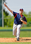 6 March 2006: Kevin Gryboski, pitcher for the Washington Nationals, on the mound during a Spring Training game against the Los Angeles Dodgers. The Nationals and Dodgers played to a scoreless tie at Holeman Stadium, in Vero Beach Florida...Mandatory Photo Credit: Ed Wolfstein..