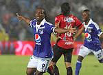Millonario  derroto 2x1 al cucuta deportivo en la liga postobon torneo apertura del futbol Colombiano