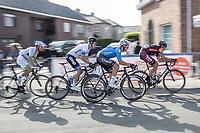 Michael Goolaerts (BEL/Veranda's Willems Crelan) in the peloton.<br /> <br /> 102nd Kampioenschap van Vlaanderen 2017 (UCI 1.1)<br /> Koolskamp - Koolskamp (192km)