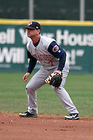 Syracuse Sky Chiefs Ryan Roberts during an International League game at Dunn Tire Park on April 27, 2006 in Buffalo, New York.  (Mike Janes/Four Seam Images)