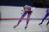 SCHAATSEN: HEERENVEEN: 29-11-2014, IJsstadion Thialf, KNSB trainingswedstrijd, Niek Deelstra, ©foto Martin de Jong