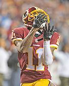 Washington Redskins wide receiver DeSean Jackson (11) prepares to catch the ball for the game-tying touchdown late in the fourth quarter against the Dallas Cowboys at FedEx Field in Landover, Maryland on Monday, December 7, 2015.  The Cowboys won the game 19-16.<br /> Credit: Ron Sachs / CNP