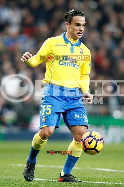 UD Las Palmas' Roque Mesa during La Liga match. March 1,2017. (ALTERPHOTOS/Acero) /NORTEPHOTOmex