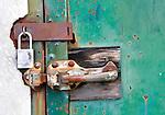 locked door Giant pumphouse