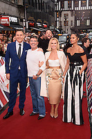 David Walliams, Simon Cowell, Ant McPartlin, Amanda Holden &amp; Alesha Dixon at the Britain's Got Talent - London Auditions at the London Palladium, London, UK. <br /> 29th January  2017<br /> Picture: Steve Vas/Featureflash/SilverHub 0208 004 5359 sales@silverhubmedia.com