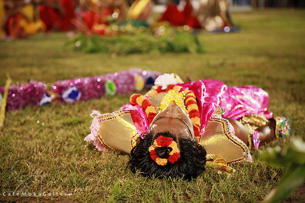 The festival of Ramleela - a re-enactment of the life of Rama