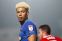 Lyle Taylor of AFC Wimbledon during the Sky Bet League 1 match between AFC Wimbledon and Charlton Athletic at the Cherry Red Records Stadium, Kingston, England on 10 April 2018. Photo by Carlton Myrie / PRiME Media Images.