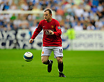 Wayne Rooney of Manchester Utd during the Premier League match at The JJB Stadium, Wigan. Picture date 11th May 2008. Picture credit should read: Simon Bellis/Sportimage