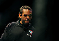 Oct. 29, 2011; Las Vegas, NV, USA; UFC referee Herb Dean during UFC 137 at the Mandalay Bay event center. Mandatory Credit: Mark J. Rebilas-