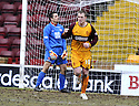 14/02/2009  Copyright Pic: James Stewart.File Name : sct_jspa05_motherwell_v_hamilton.DAVID CLARKSON CELEBRATES AFTER HE SCORES MOTHERWELL'S FIRST.James Stewart Photo Agency 19 Carronlea Drive, Falkirk. FK2 8DN      Vat Reg No. 607 6932 25.Studio      : +44 (0)1324 611191 .Mobile      : +44 (0)7721 416997.E-mail  :  jim@jspa.co.uk.If you require further information then contact Jim Stewart on any of the numbers above.........