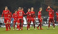 Torjubel beim 0:1 von Brandon Borello (1. FC Kaiserslautern) - 21.02.2018: SV Darmstadt 98 vs. 1. FC Kaiserslautern, Stadion am Boellenfalltor, 2. Bundesliga