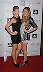 "WEST HOLLYWOOD, CA. - November 11: Lauren ""Lo"" Bosworth and Lauren Conrad  arrive at the Maxim And Ubisoft Celebrate The Launch Of 'Assassin's Creed II' at Voyeur on November 11, 2009 in West Hollywood, California."