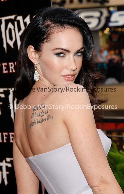 Megan Fox. of Panic! at the Disco.Spencer Smith at Jennifer's Body Fan Meet & Greet  held at Hot Topic in Hollywood, California on September 16,2009                                                                   Copyright 2009 Debbie VanStory / RockinExposures