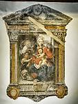 Faded icon, Vinci, Tuscano, Italy