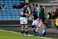 Millwall's Tim Cahill replaces Ben Marshall in the second half during Millwall vs Brentford, Sky Bet EFL Championship Football at The Den on 10th March 2018