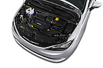 Car Stock 2017 Chrysler Pacifica LX 5 Door Minivan Engine  high angle detail view