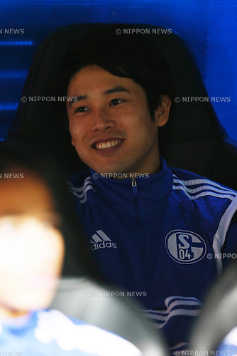 Atsuto Uchida (Schalke), MARCH 10, 2015 - Football / Soccer : UEFA Champions League Round of 16 2nd leg match between Real Madrid 3-4 Schalke 04 at the Santiago Bernabeu Stadium in Madrid, Spain. (Photo by D.Nakashima/AFLO)