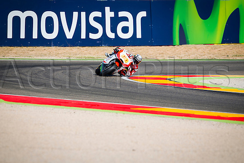 24.09.2016. Motorland Aragon, Alcaniz, Spain. MotoGP Grand Prix of Aragon. Qualifying.  Julian Simon (ESP), QMFF Racing Team rider,