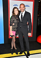 Mark Perez &amp; Valarie Ianniello at the premiere for &quot;Game Night&quot; at the TCL Chinese Theatre, Los Angeles, USA 21 Feb. 2018<br /> Picture: Paul Smith/Featureflash/SilverHub 0208 004 5359 sales@silverhubmedia.com