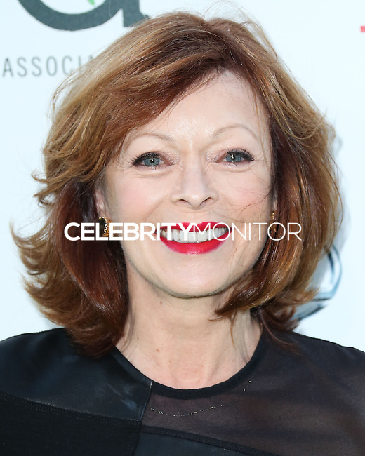 BURBANK, CA, USA - OCTOBER 18: Frances Fisher arrives at the 2014 Environmental Media Awards held at Warner Bros. Studios on October 18, 2014 in Burbank, California, United States. (Photo by Xavier Collin/Celebrity Monitor)
