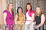 SOCIAL: Having a great time at the Ballymac GAA social at the Ballygarry House hotel and Spa on Saturday l-r: Karen O'Brien, Teresa Walker, Sinead Joy and Paula Luck.