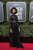 Zuri Hall arrives at the 75th Annual Golden Globe Awards at the Beverly Hilton in Beverly Hills, CA on Sunday, January 7, 2018.<br /> *Editorial Use Only*<br /> CAP/PLF/HFPA<br /> &copy;HFPA/Capital Pictures