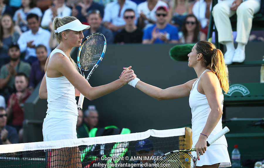 MARIANA DUQUE-MARINO (ESP)<br /> <br /> TENNIS - THE CHAMPIONSHIPS - WIMBLEDON 2015 -  LONDON - ENGLAND - UNITED KINGDOM - ATP, WTA, ITF <br /> <br /> &copy; AMN IMAGES