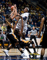 Reshanda Gray of California shoots the ball during the game against Long Beach State at Haas Pavilion in Berkeley, California on November 8th, 2013.  California defeated Long Beach State, 70-51.