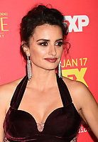 HOLLYWOOD, CA - JANUARY 08: Actress/model Penelope Cruz attends the Premiere Of FX's 'The Assassination Of Gianni Versace: American Crime Story' at ArcLight Hollywood on January 8, 2018 in Hollywood, California.<br /> CAP/ROT/TM<br /> &copy;TM/ROT/Capital Pictures