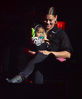 www.acepixs.com<br /> <br /> February 14 2017, Houston Tx<br /> <br /> Bobby Brown's wife Alicia Etheredge and his daughter Bodhi Jameson Rein Brown at the Valentine's Music Festival at the NRG Arena on February 14, 2017 at NRG Arena, In Houston, Texas<br /> <br /> By Line: Solar/ACE Pictures<br /> <br /> ACE Pictures Inc<br /> Tel: 6467670430<br /> Email: info@acepixs.com<br /> www.acepixs.com