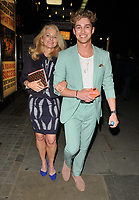 Debi Pritchard and AJ Pritchard at the &quot;Kinky Boots&quot; gala performance departures, Adelphi Theatre, The Strand, London, England, UK, on Tuesday 29 May 2018.<br /> CAP/CAN<br /> &copy;CAN/Capital Pictures