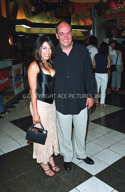 """Actress Delilah Cotto and producer SANTIAGO POZO at the opening of the 3Rd Annual New York International Latino Film Festival and the premiere of """"Empire."""" New York, July 31, 2002. Please byline: Alecsey Boldeskul/NY Photo Press.   ..*PAY-PER-USE*      ....NY Photo Press:  ..phone (646) 267-6913;   ..e-mail: info@nyphotopress.com"""