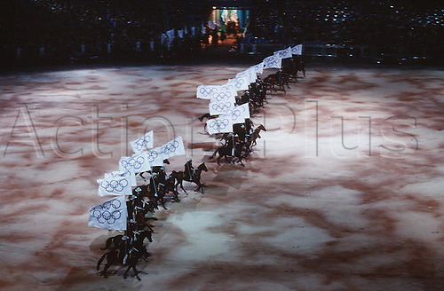 15.09.2000. Olympic Stadium, Sydney, Australia. The Opening Ceremony, Olympic Stadium, Sydney 2000 Olympic Game