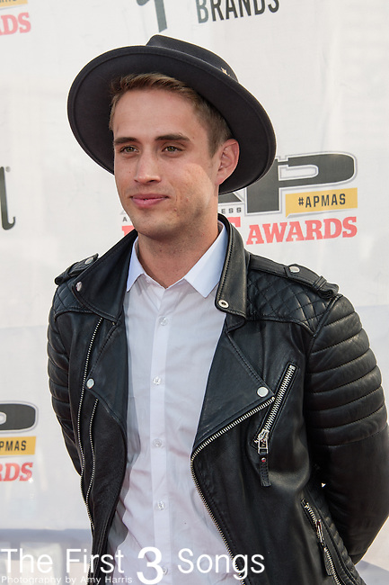 Brian Sales of The Summer Set attends the 2014 AP Music Awards at the Rock And Roll Hall Of Fame and Museum at North Coast Harbor in Cleveland, Ohio.