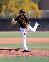 Cody Tyler - San Diego Padres 2020 spring training (Bill Mitchell)