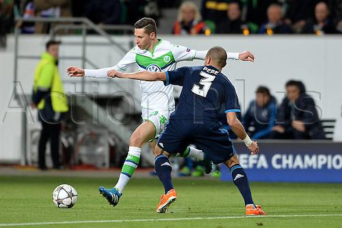 06.04.2016. Wolfsburg, Geramny. UEFA Champions League quarterfinal. VfL Wolfsburg versus Real Madrid.  Julian Draxler Wolfsburg