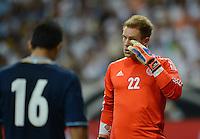 FUSSBALL Nationalmannschaft Freundschaftsspiel   15.08.2012 Deutschland - Argentinien    Torwart Marc Andre ter Stegen (Deutschland)