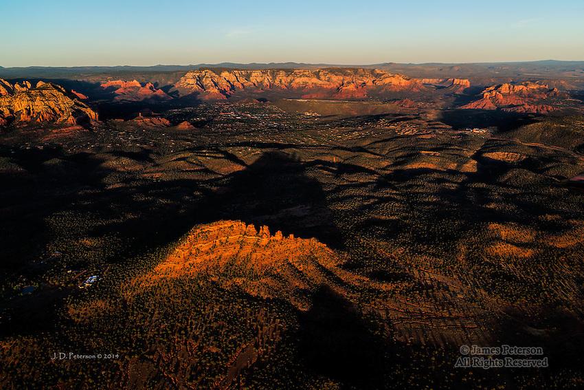 The Cockscomb and West Sedona, Arizona