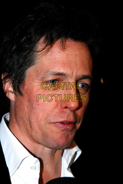 "HUGH GRANT.At the UK Film Premiere of ""Music & Lyrics"",.Odeon Leicester Square, London, England,.February 5th 2007..portrait headshot .CAP/IA.©Ian Allis/Capital Pictures"