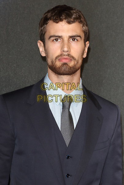 LONDON, ENGLAND - MARCH 11: Theo James attends the World Premiere of 'Insurgent' at Odeon Leicester Square on March 11, 2015 in London, England<br /> CAP/ROS<br /> &copy;Steve Ross/Capital Pictures