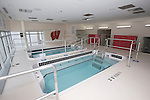 Wisconsin Badgers swimming and diving hot and cold tubs at the LaBahn Arena Monday, October 1, 2012 in Madison, Wisc. (Photo by David Stluka)