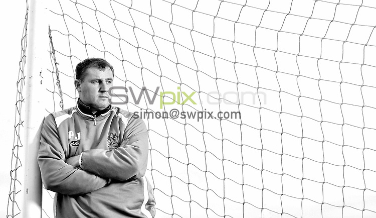 Pix by BEN DUFFY/SWpix.com -Premiership football - Paul Jewell, Wigan...18/10/05..Picture Copyright >> Simon Wilkinson >> 07811267706..Wigan boss, Paul Jewell pictured at the teams training ground