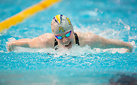 Picture by Allan McKenzie/SWpix.com - 17/12/2017 - Swimming - Swim England Nationals - Swim England National Championships - Ponds Forge International Sports Centre, Sheffield, England - Laura Stephens races in the womens 200m butterfly.
